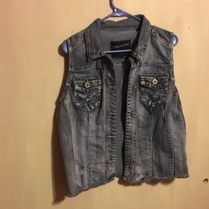Maurice's jean vest